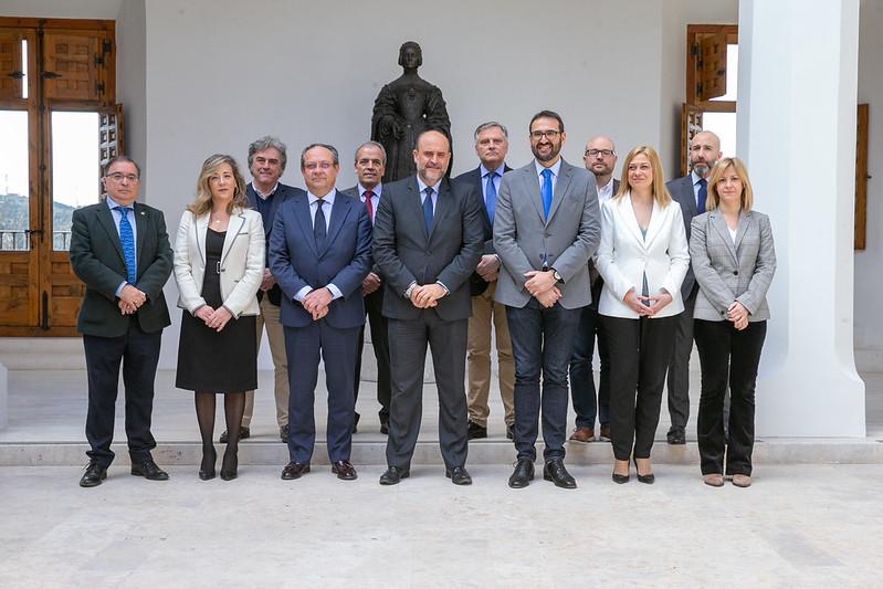 Reunión con los representantes de los Grupos Parlamentarios de las Cortes Regionales