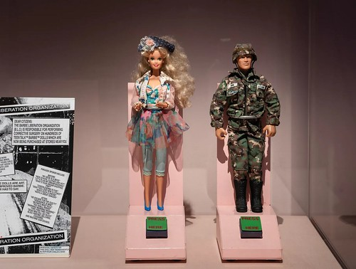 Barbie Liberation dolls. Source: Igor Vamos.