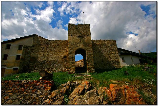 Le château, Els Angles (el Capcir, França)