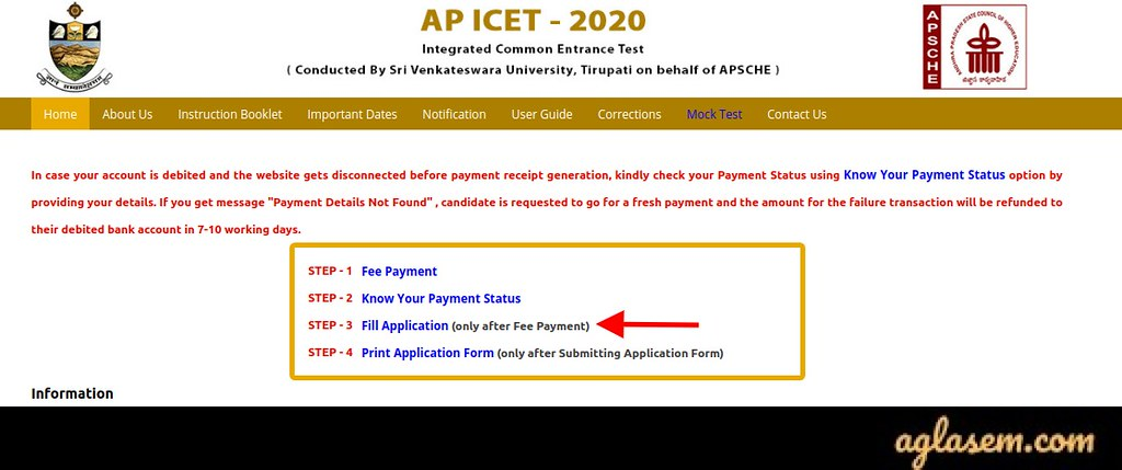 AP ICET 2020 Application Form AP ICET 2020 Application Form - Last Date to Apply (05 Sep)