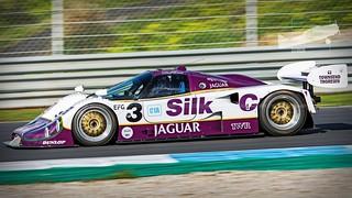 1990 Jaguar XJR-12 LM   Estoril Classics Winter Tests Feb ...