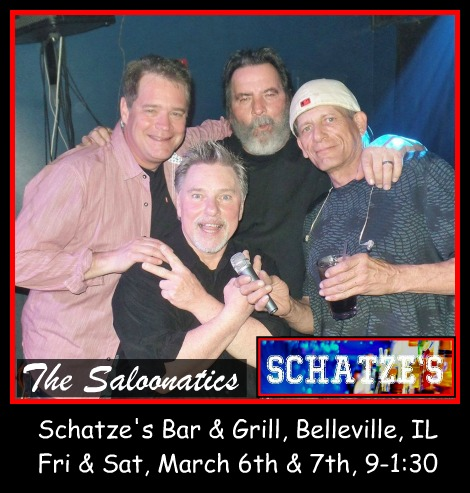 The Saloonatics 3-6, 3-7-20