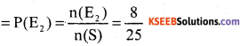 KSEEB Solutions for Class 10 Maths Chapter 14 Probability Ex 14.2 2
