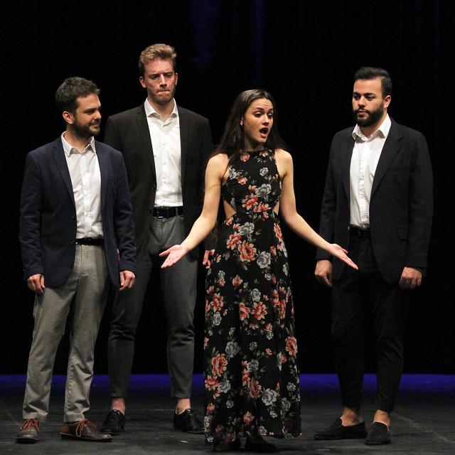 CANTORÍA - CUARTETO VOCAL - CICLO JUVENTUDES MUSICALES - TEATRO EL ALBÉITAR DE LA UNIVERSIDAD DE LEÓN - 3 DE MARZO´20