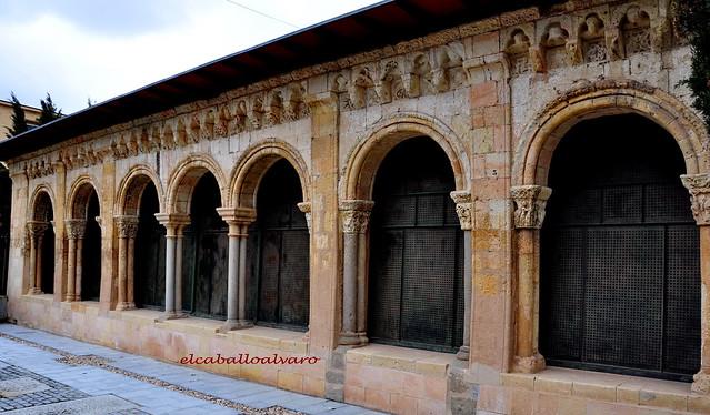 701 - Atrio - Iglesia San Juan de los Caballeros – Segovia - Spain.