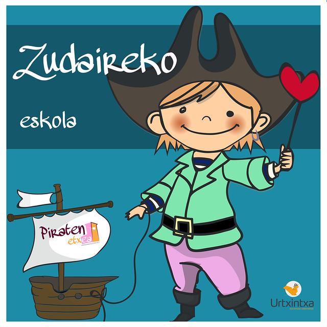 Pirata egonaldia- Zudaireko eskola 2020.03.09-2020.03.11