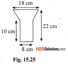KSEEB Solutions for Class 10 Maths Chapter 15 Surface Areas and Volumes Ex 15.5 12