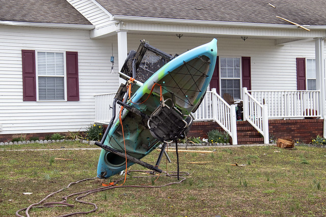 March 3rd, 2020 tornado damage, Putnam County, Tennessee 7
