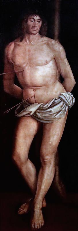 IMG_5985F Lorenzo Costa 1460-1533 Mantoue Saint Sébastien  Parme Fondazione Magnani Rocca