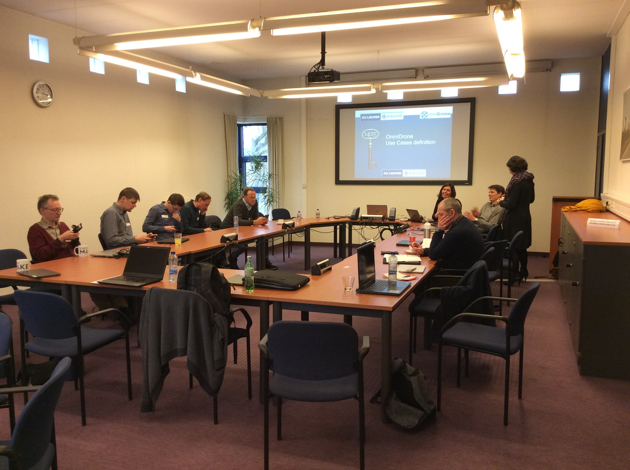 20200228 - 4th OmniDrone Advisory Board meeting