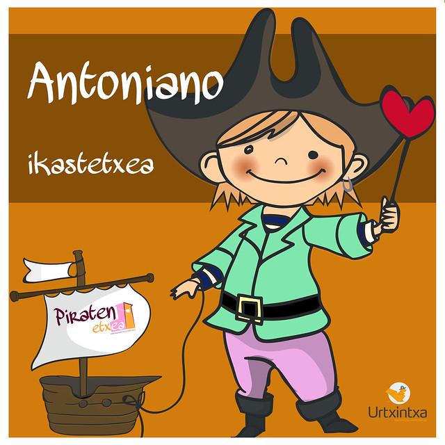 Pirata egonaldia- Antoniano ikastetxea 2020.03.12-2020.03.13
