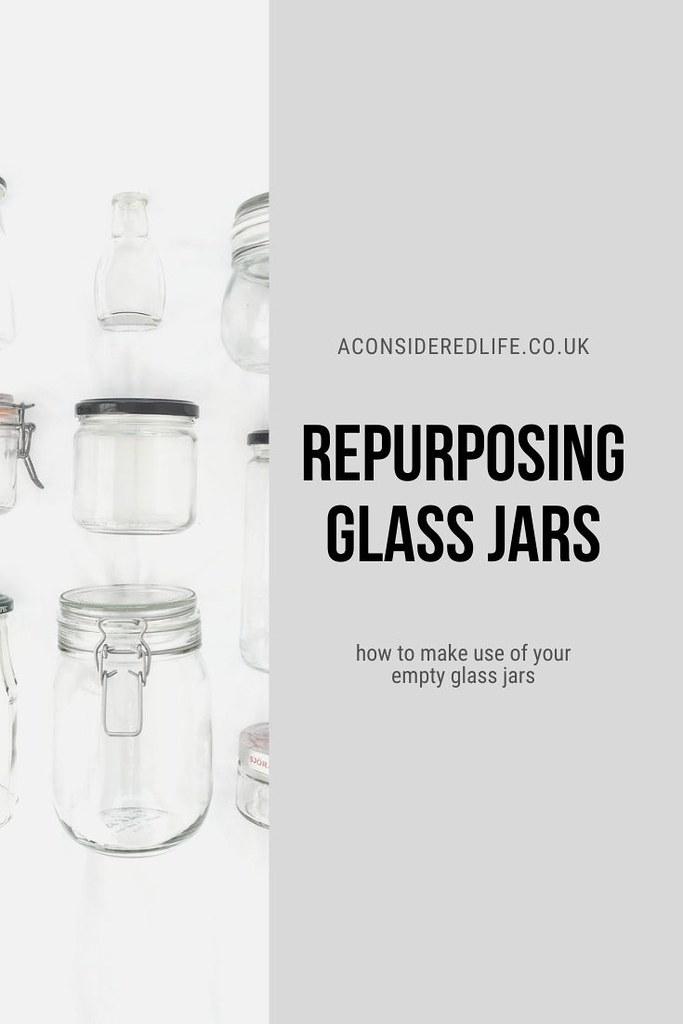 Making Use Of Empty Jars