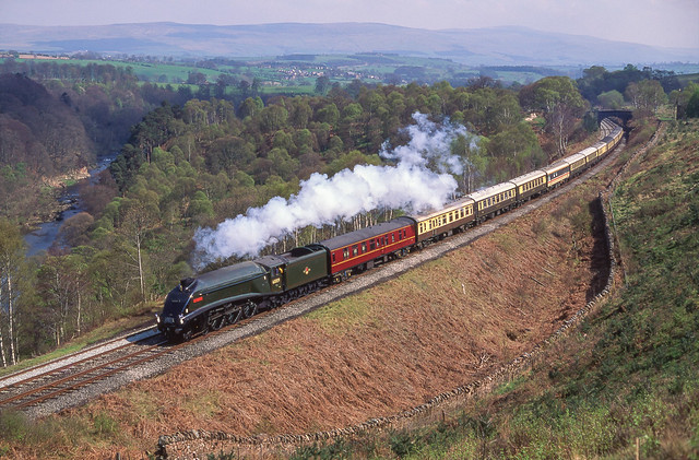 60009 At Baron Wood. 27/04/1991.