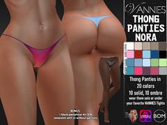 VANNIES Thong Panties Nora