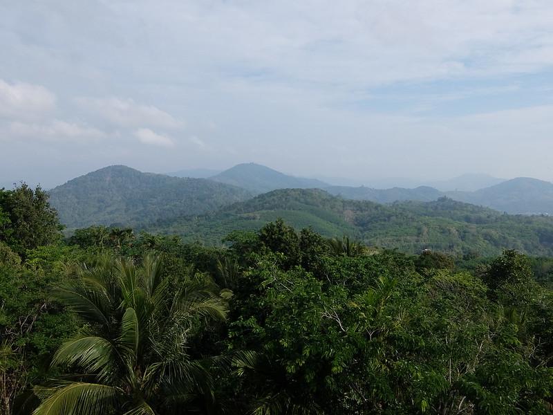 Пхукет - Вид на холмы со стороны Большого Будды