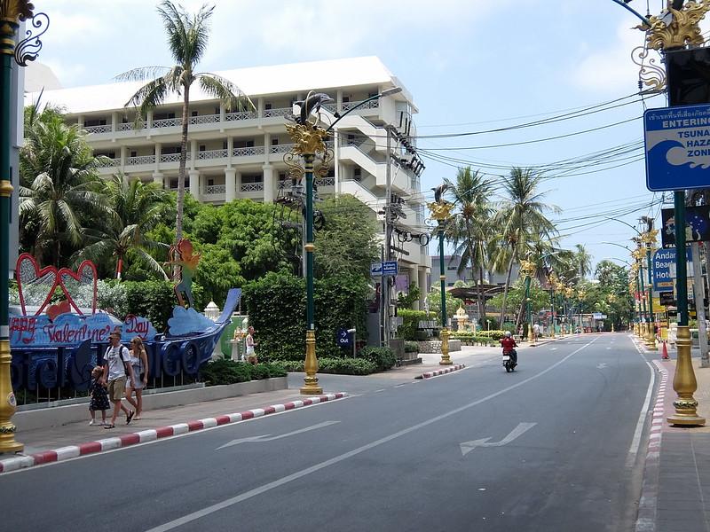 Пхукет - Пальмы по пути на пляж
