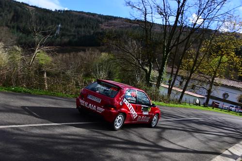 Aritz Herrero - Eduardo Madina, Citroën Saxo VTS, XXII Rallysprint de Gabiria-Legazpi 2020