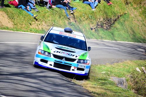 Mattin Villares - Jon Zozaia, Mitsubishi Lancer Evo IX, XXII Rallysprint de Gabiria-Legazpi 2020