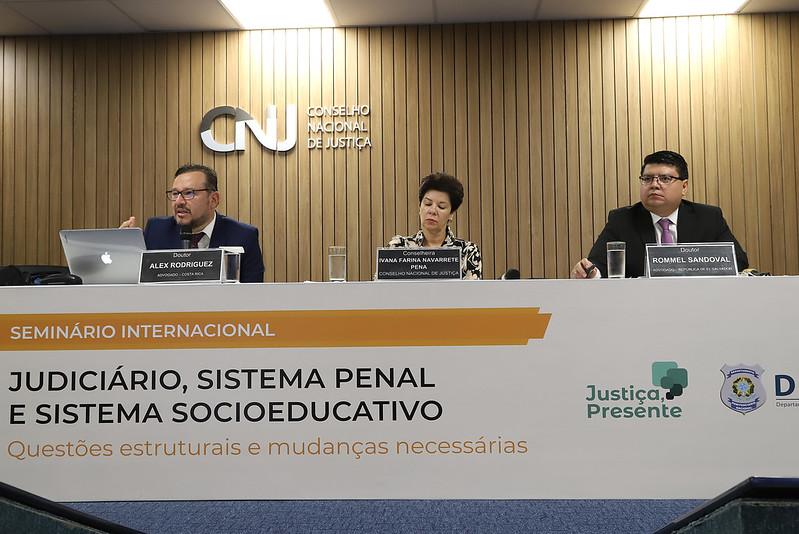 2ª Conferência do Seminário Internacional Judiciário, sistema penal e sistema socioeducativo