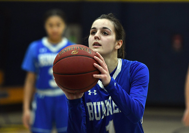 Bunnell at Simsbury Girls Basketball State Tourney