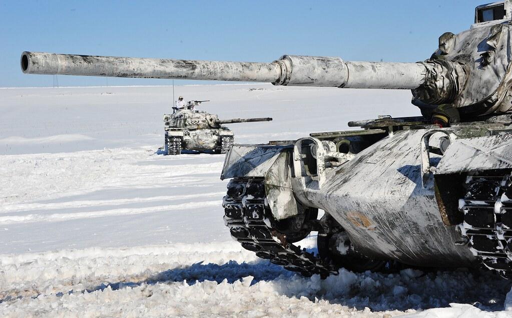 M-48 Kış tatbikatı video ekran görüntüleri