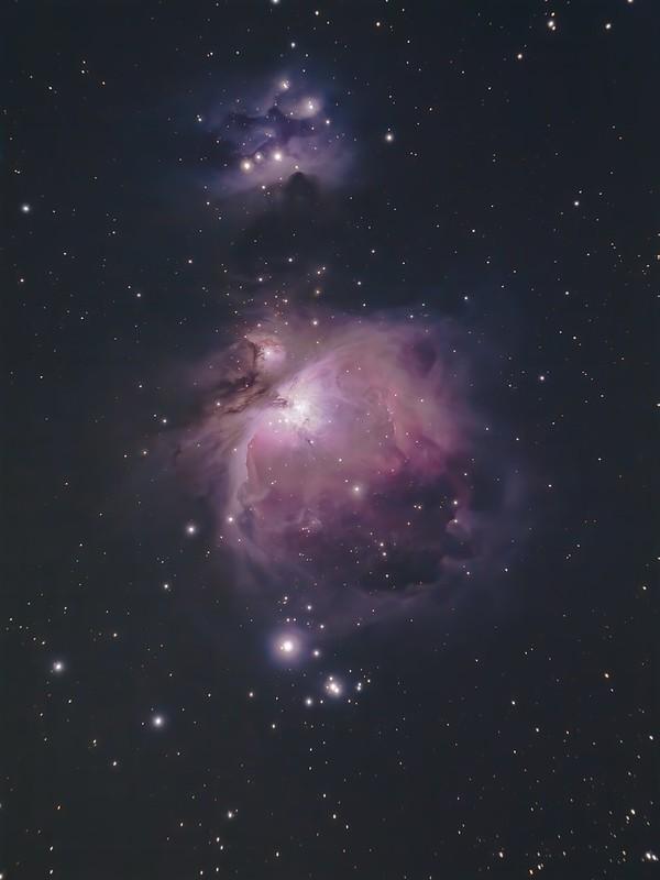 M42 (2017/10/26 01:49) (HDR, RegiStax, StarNet++, DeNoise AI)