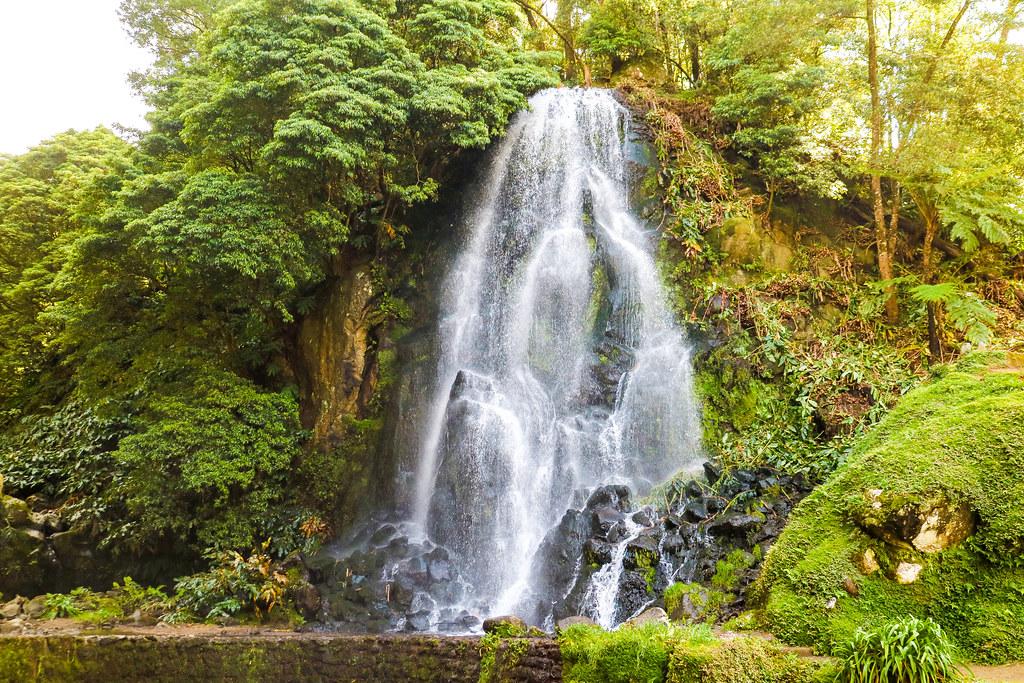 Cascada en Ribera dos Caldeiras