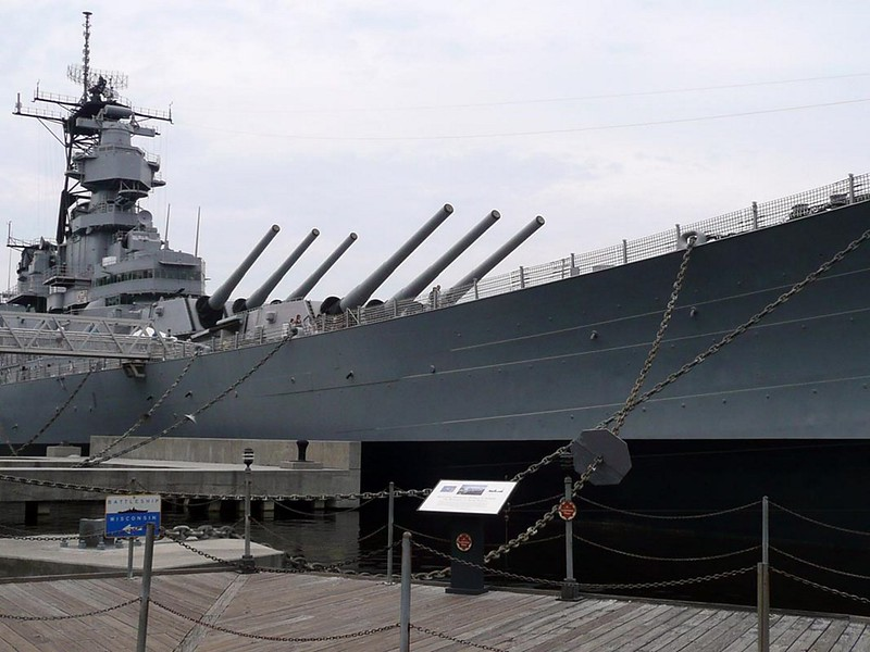 USS Wisconsin BB-64 8