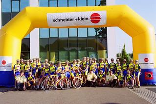 Ploegenpresentatie 2001 - Schneider + Klein