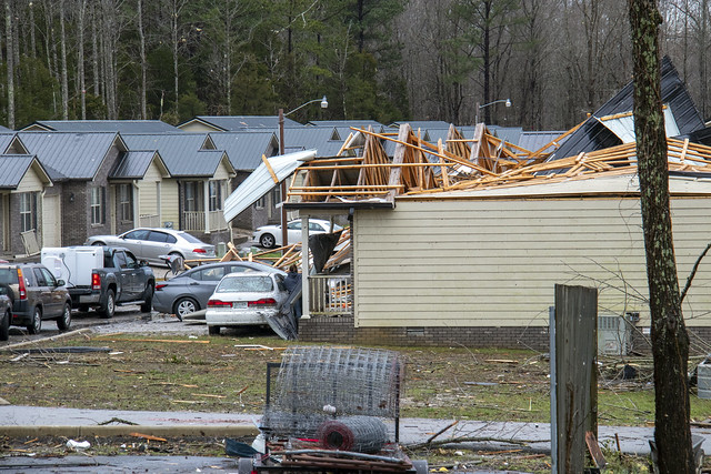 March 3rd, 2020 tornado damage, Putnam County, Tennessee 18