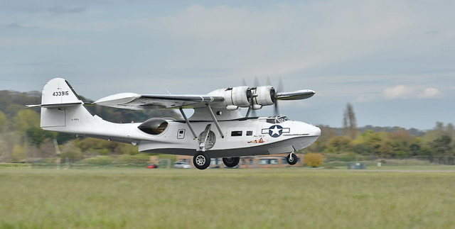 Catalina Flying Boat Rounding Out