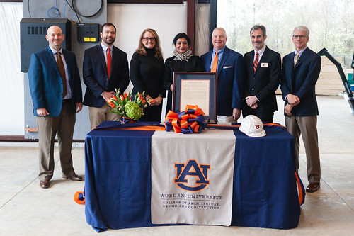 Robins and Morton Construction Field Lab dedication