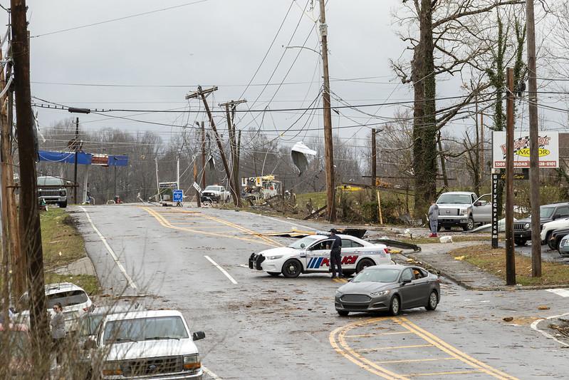 March 3rd, 2020 tornado damage, Putnam County, Tennessee 21