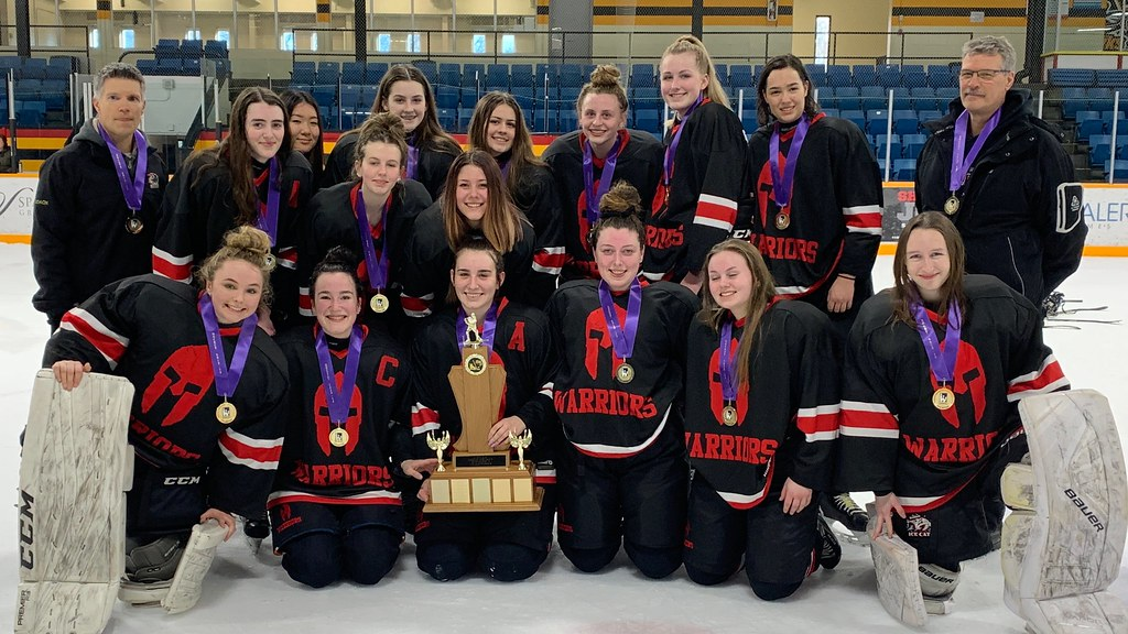 2019-20 Girls Hockey Champions: Waterdown Warriors