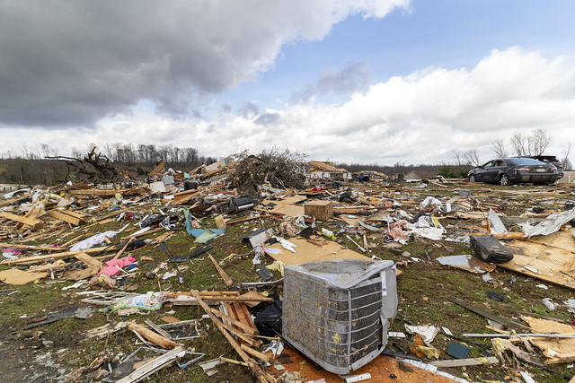 March 3rd, 2020 tornado damage, Putnam County, Tennessee 27