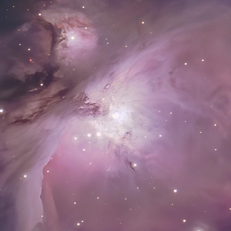 M42中心部 (2017/10/26 01:49) (HDR, RegiStax, StarNet++, DeNoise AI)