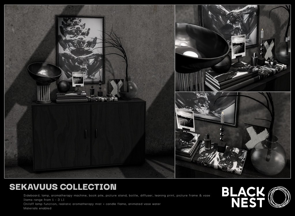 BLACK NEST | Sekavuus Collection | TMD