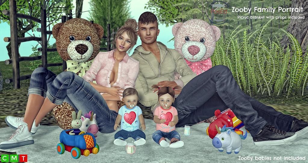 *Zooby Family Portrait* ❤️