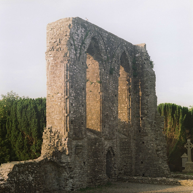 ruin of the Cathedral of St. Peter and Paul