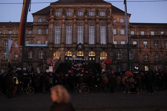 Proteste gegen die EU-Grenzpolitik am 04.03.2020 in Kassel