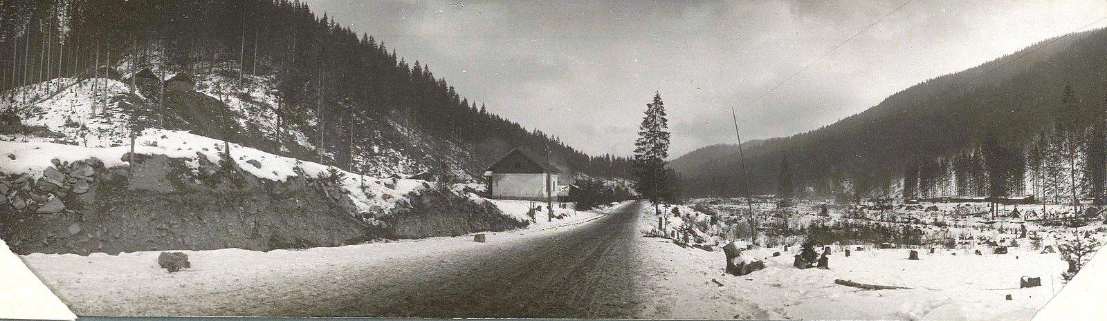 1915. Дорога Яблоницы-Тартаров