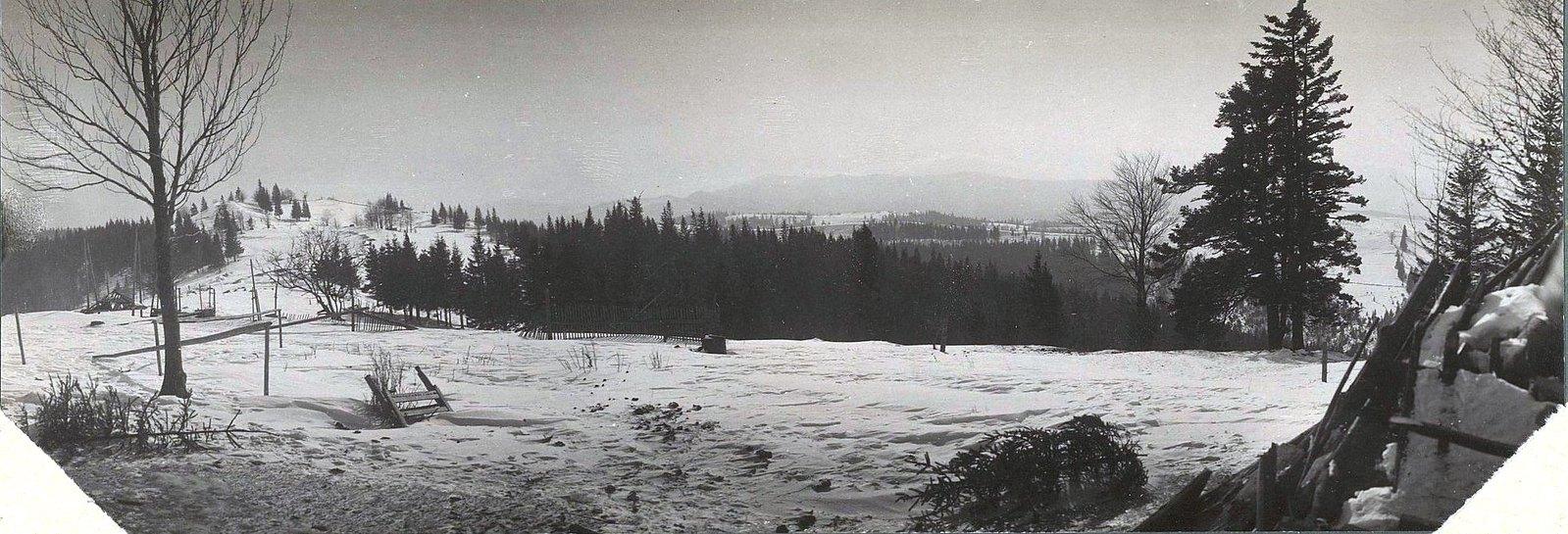 1915. Дорога Тартаров-Яблоницы