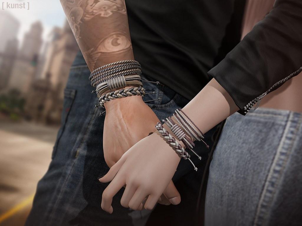 [ kunst ] – Sloan bracelets