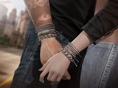 [ kunst ] - Sloan bracelets