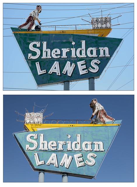 Light and Shadow - Sheridan Lanes  - Tulsa, Ok