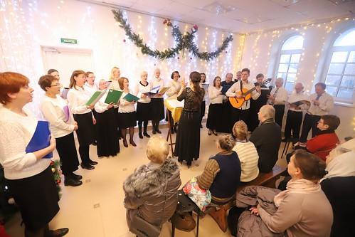 Рождество 2020, любительский хор