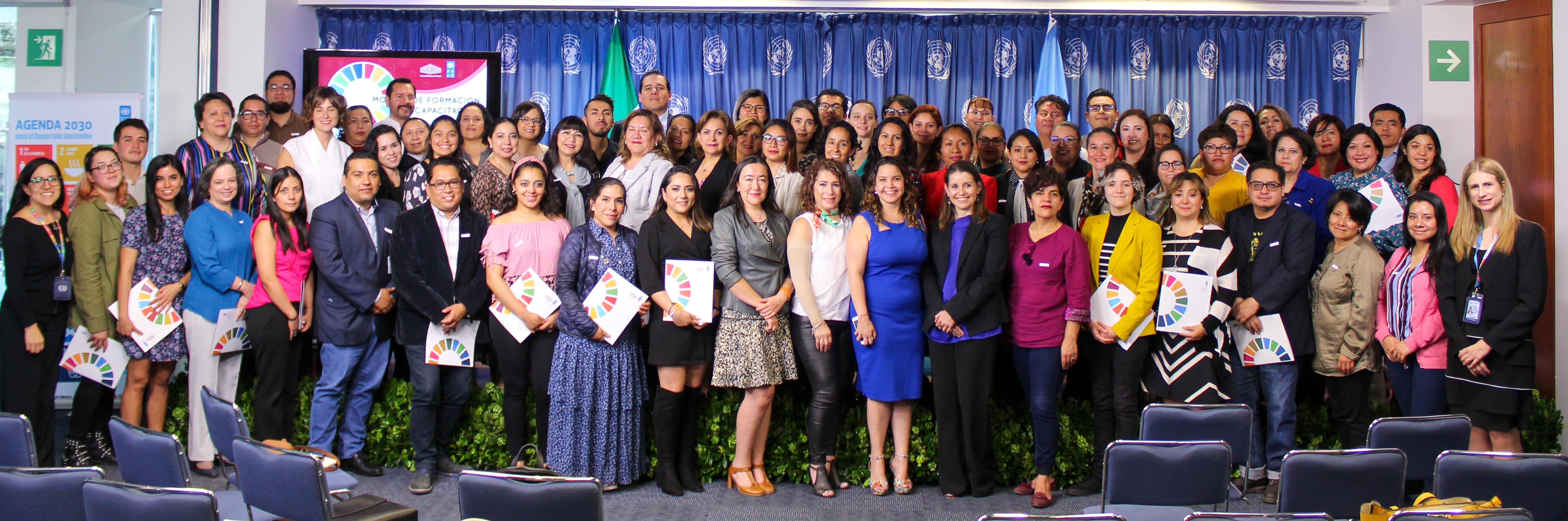 """Segunda edición del """"Modelo de formación y capacitación para transitar hacia un enfoque de derechos, desarrollo sostenible e inclusión"""""""