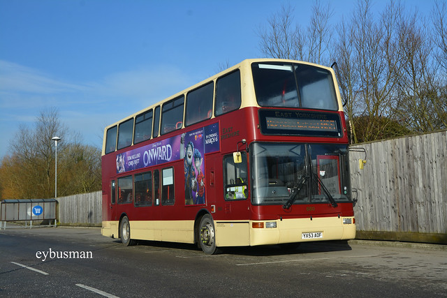 East Yorkshire 680, YX53AOF.
