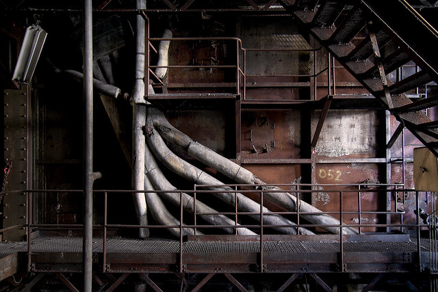Industry pipe organ