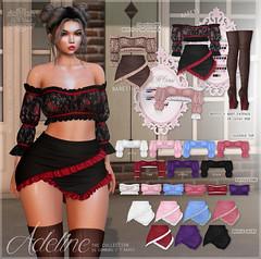 {le fil cassé} Adeline Collection for Lootbox!